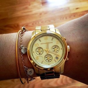 Michael Kors Women's Gold Watch-MK5055